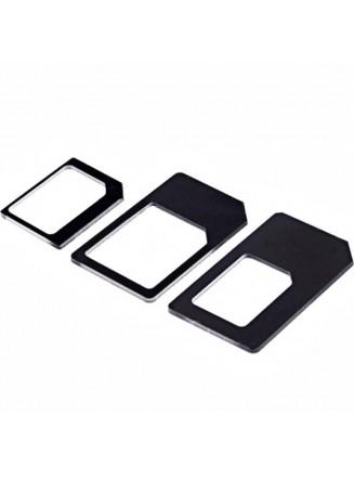Adaptador 2 Em 1 Nano Sim Micro Sim / SIM