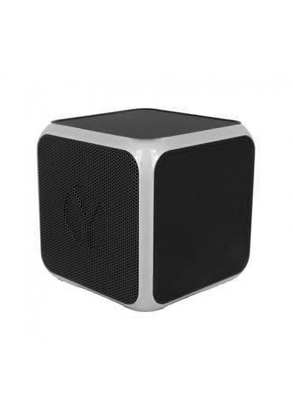 Coluna Altavoz Bluetooth Cubo YZSY Flashy Black (3W)