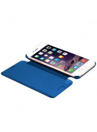 Capa Flip Cover Clear View para Apple iPhone 7 / iPhone 8 Azul
