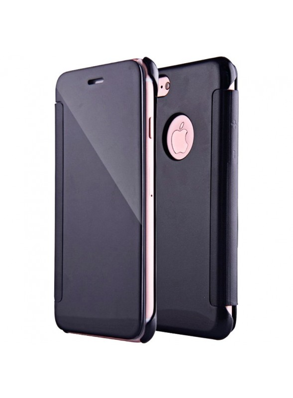Capa Flip Cover Clear View para Apple iPhone 7 / iPhone 8 Negro