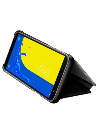Capa Flip Cover Clear View para Samsung J600 Galaxy J6
